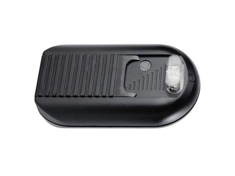 Kaoyi KFD-527S2 foot dimmer with switch, 2-lamps 40-500 Watt black
