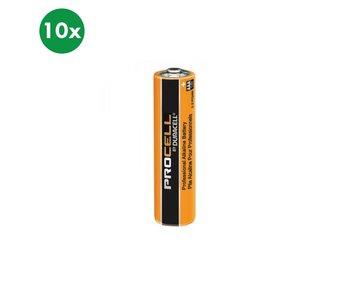 Duracell Alkaline AAA (LR03) batterij 10x