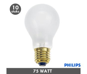 Philips Gloeilamp 75 Watt mat E27