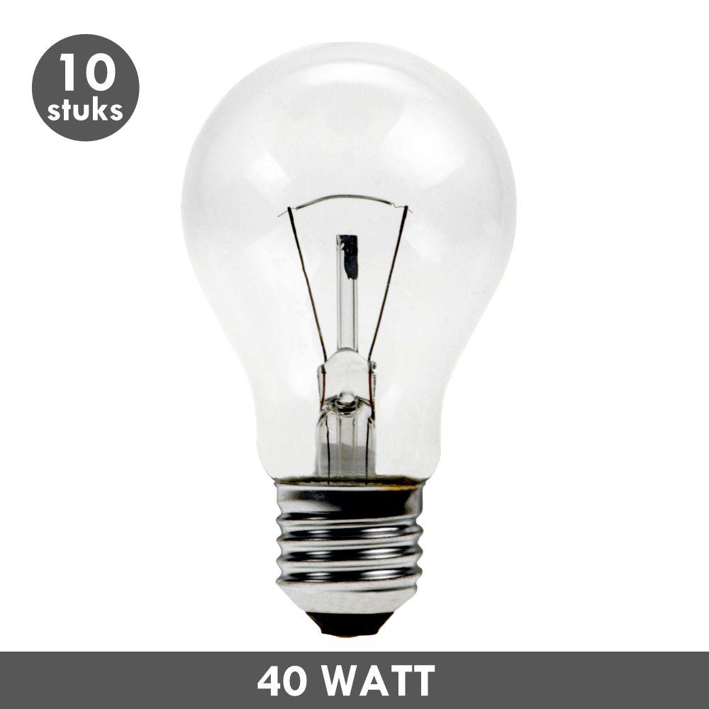 et48 ampoule incandescence de 40 watts e27 10x. Black Bedroom Furniture Sets. Home Design Ideas