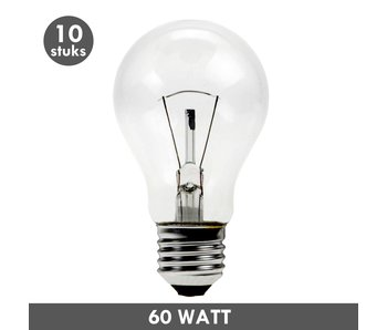 ET48 Incandescent bulb 60 Watt E27 10x - Copy