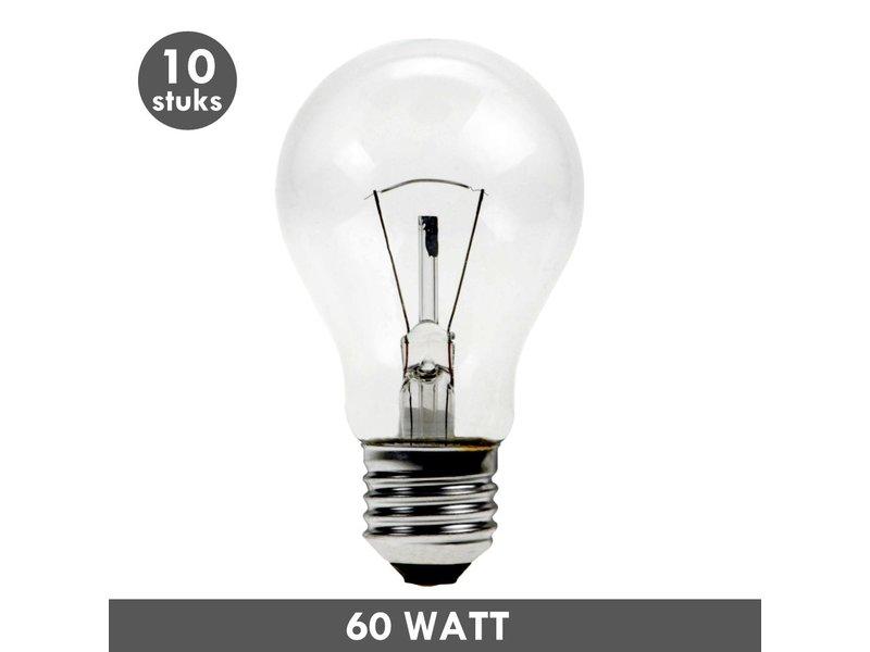 ET48 Incandescent bulb 60 Watt E27 10x - Copy