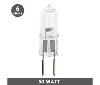 ET48 G6.35 steeklampje 12 Volt 50 Watt