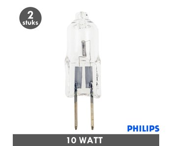 Philips G4 steeklampje 12 Volt 10 Watt
