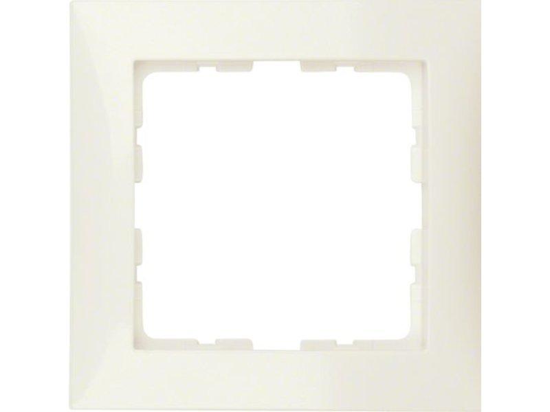 Berker S1 afdekraam 1-voudig creme 10118982