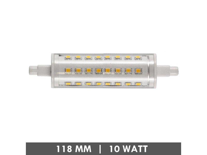ET48 R7s buislampje 118mm 10 Watt LED dimbaar