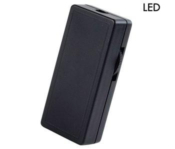 Tradim 62102 LED snoerdimmer 1-25 Watt zwart