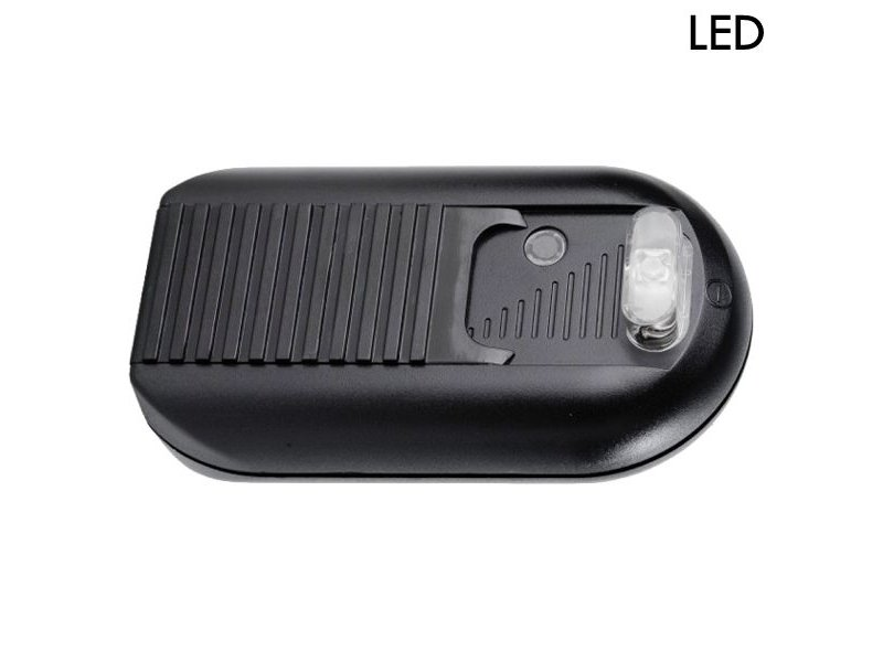 Tradim 631032-1 LED vloerdimmer met schakelaar 1-60 Watt zwart ...