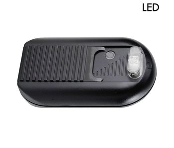 Tradim 631032-2 LED gradateur étage avec 1-100 Watt noir