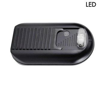 Tradim 631032-2 LED vloerdimmer met schakelaar 1-100 Watt zwart