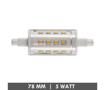 ET48 R7s buislampje 78mm 5 Watt LED niet-dimbaar