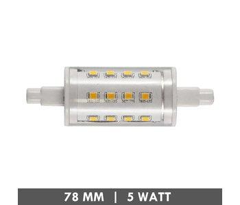 ET48 R7s tube LED lamp 78mm 5 watts