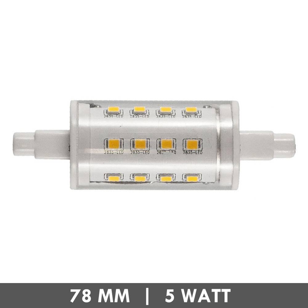 et48 r7s tube led lamp 78mm 5 watts. Black Bedroom Furniture Sets. Home Design Ideas