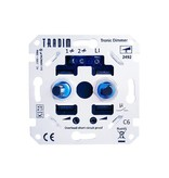 Tradim 2492EXOP LED duo dimmer 2x 3 -100 Watt