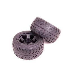 Rovan Rear highway wheel set with heavy-duty headlock ring (2pc)