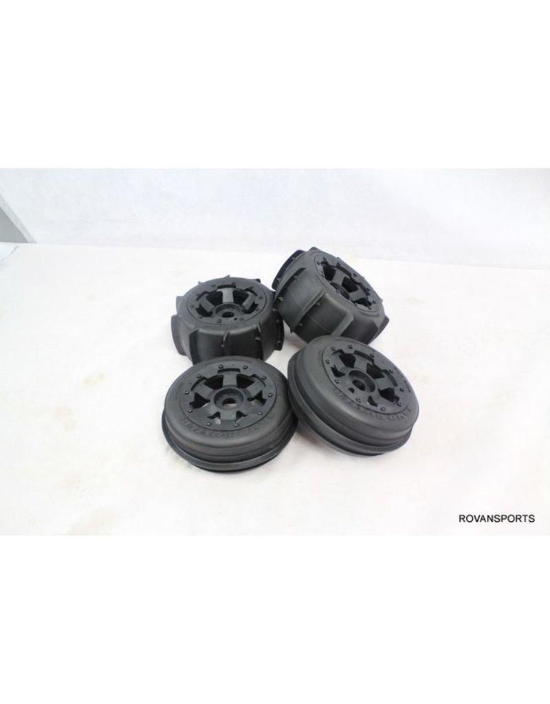 Rovan Sand wheel set(4pcs/set) Sand Buster (170 x 60 + 170 x 80 ...