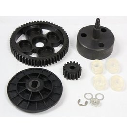 Rovan New clutch cup high torque metal gear set 16/58