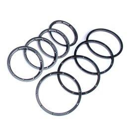 Rovan Alu beadlock rings (4pcs)