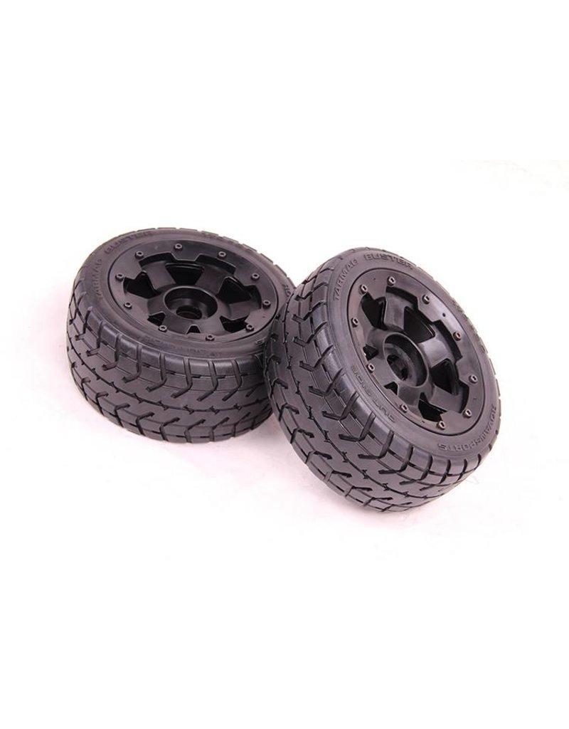 Rovan Front highway wheel set with heavy-duty beadlock ring