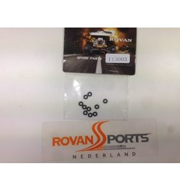 Rovan Parts for 85089 hydraulic front brake set - small rubber rings (10pcs.) 5mm outside dim.