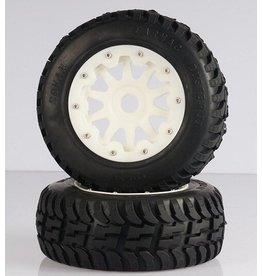 Rovan Tarmac Buster Nylon second gen. 5T/5SC Tire 195x75 (2pcs.)