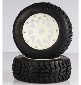 Rovan Tarmac Buster Nylon second gen. 5T/5SC Tire 195x80 (2pcs.)