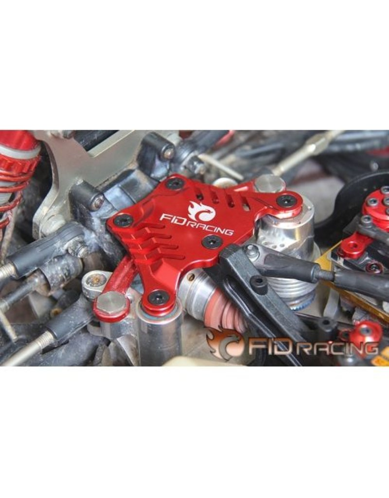 FIDRacing 5IVE T front top chassis brace