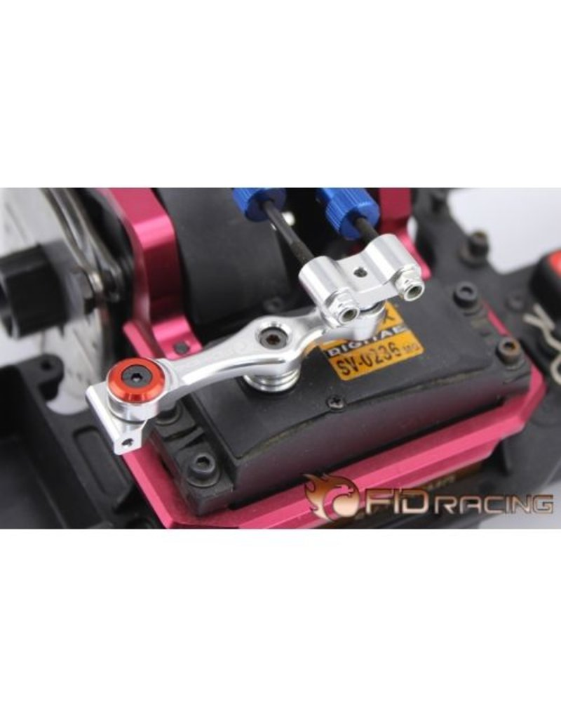 FIDRacing 5IVE Talloy Throttle Push Rod Arm with bearings