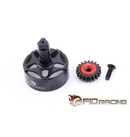 FIDRacing LOSI 5IVE CNC clutch housing +19t gear