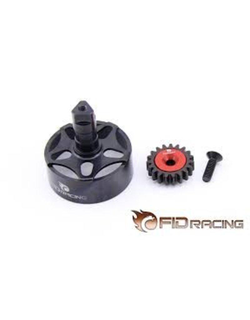 FIDRacing LOSI 5IVE CNC clutch housing +19t gear