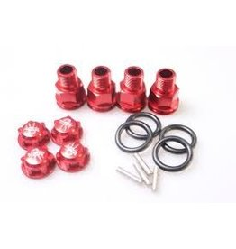 GTBRacing 5ive T Wheel nut and axle extenders(4pcs.)