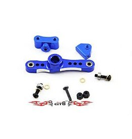GTBRacing 5ive T Alloy Throttle Push Rod Arm with bearings