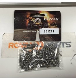 Rovan Silver screws for CNC wheel set