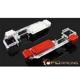 FIDRacing 5ive T Dual radio servo tray V2 savox 0236 servo