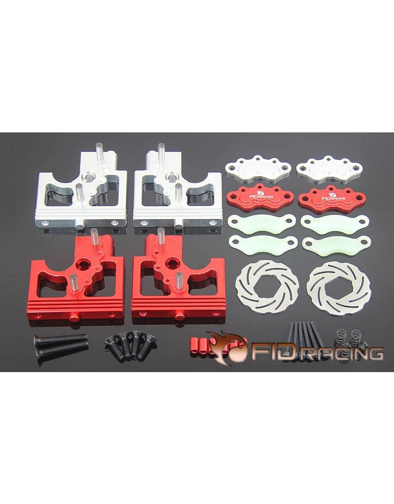 FIDRacing Centre diff bracket adjustable calipers version base plate