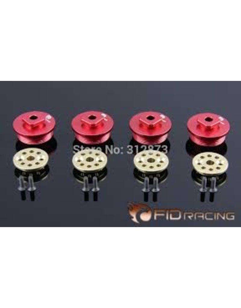 FIDRacing Lower Shock caps