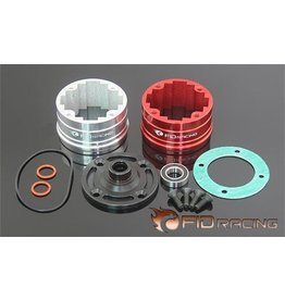 FIDRacing Five T Differntial gear box with bearing )compatible front, middle and rear