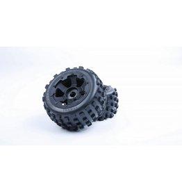 Rovan 5B knobby  banden achter met nieuwe hele stevige waterproof inner foam 170x80