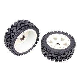 Rovan 5B front terrian tyres set with nylon hub AIT 170x60 (2pcs.)
