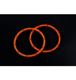 Rovan small plastic wheel beadlock ring for new knobby tire