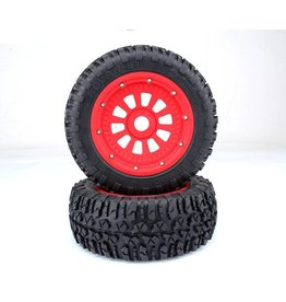 RovanLosi LT tyres with nylon hub (2pcs) Outside 180x70