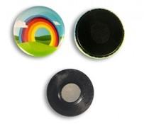 Kleidung Magnetbutton 25 mm rund ab