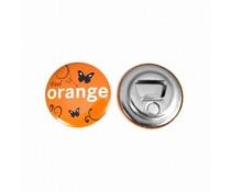 Flaschenöffner Buttons mit magnet 56 mm ab