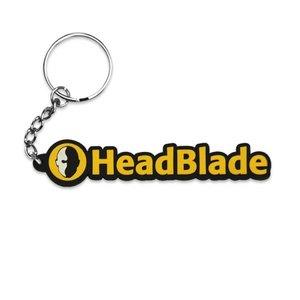 HeadBlade Rubber Keychain