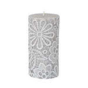 Finnmari Lace Flower Candle