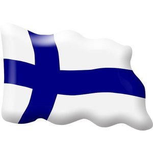 Lappituote Magnet (Finnish Flag)