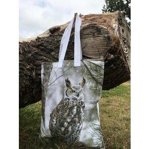 Lappituote SHOPPING BAG OWL