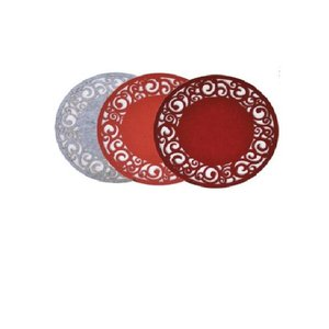Finnmari Placemat Felt Red 35cm