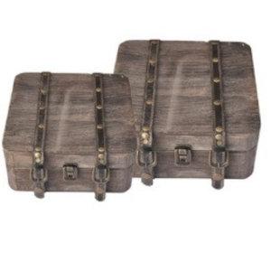 Finnmari Decoration Suitcases (2 pcs)