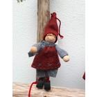 Kerstkabouter jongen  (17cm)